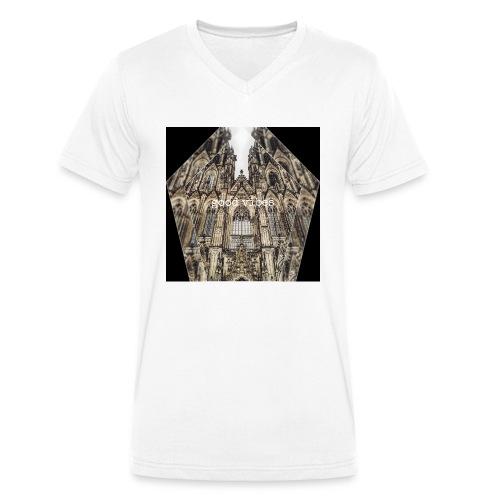 Good Vibes - Männer Bio-T-Shirt mit V-Ausschnitt von Stanley & Stella