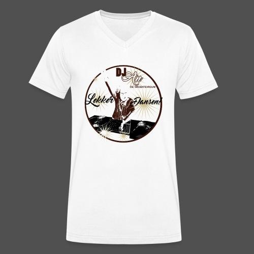 DJ An - Mannen bio T-shirt met V-hals van Stanley & Stella