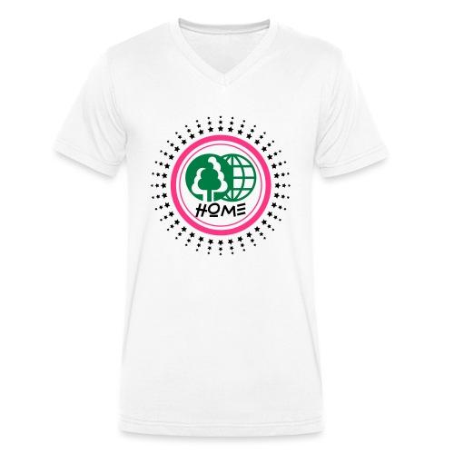 Planète home sweet home - Men's Organic V-Neck T-Shirt by Stanley & Stella