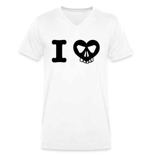 I Love... - Männer Bio-T-Shirt mit V-Ausschnitt von Stanley & Stella