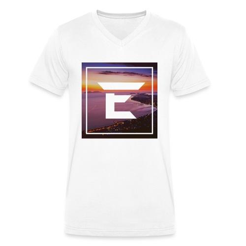EMPRiiX Pullover White - Männer Bio-T-Shirt mit V-Ausschnitt von Stanley & Stella