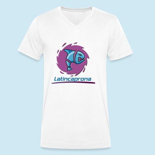 Latincaprona - T-shirt ecologica da uomo con scollo a V di Stanley & Stella