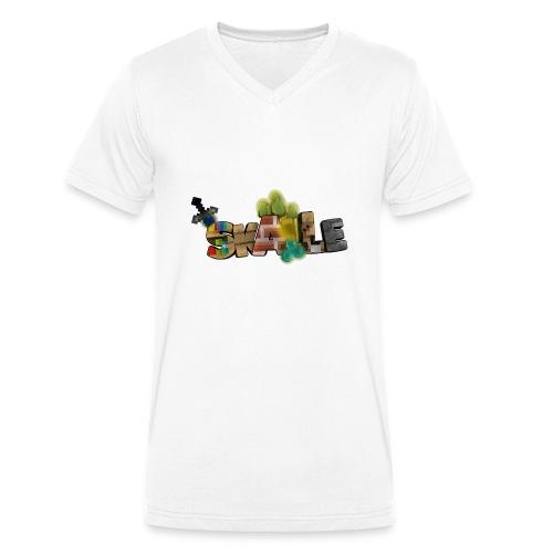 SKALLE - Aufschrift - Männer Bio-T-Shirt mit V-Ausschnitt von Stanley & Stella