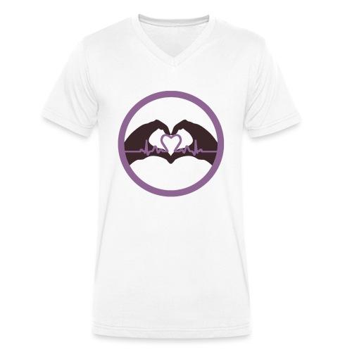 Logo ASC - T-shirt bio col V Stanley & Stella Homme