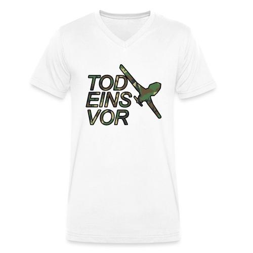 Tod Eins Vor Drohne - Camo Edition - Männer Bio-T-Shirt mit V-Ausschnitt von Stanley & Stella