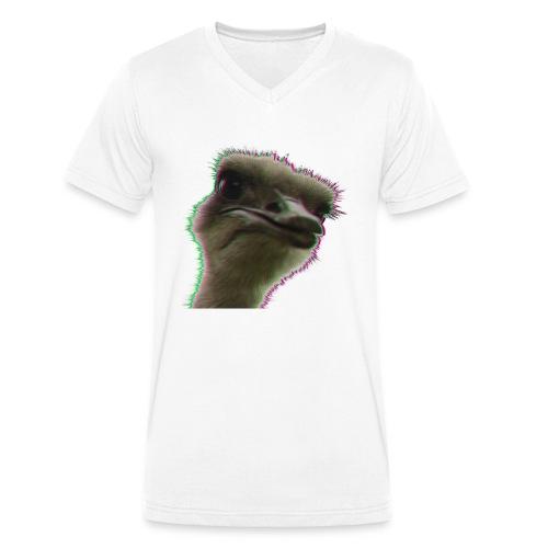 Strauss rocks - Männer Bio-T-Shirt mit V-Ausschnitt von Stanley & Stella