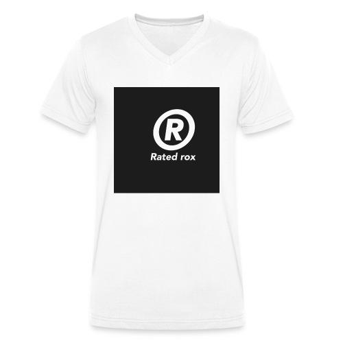 ROX - Men's Organic V-Neck T-Shirt by Stanley & Stella