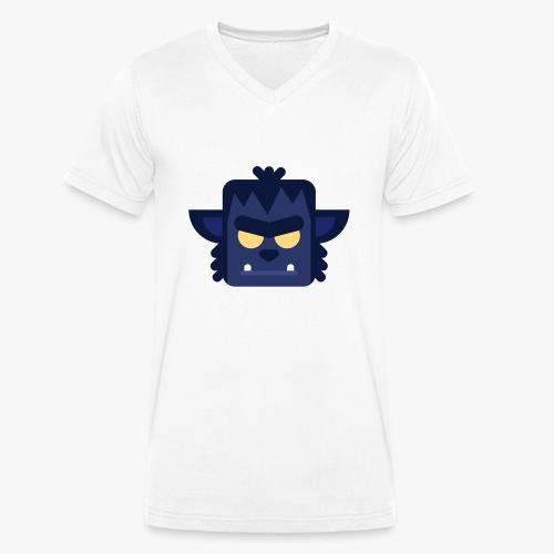 Mini Monsters - Lycan - Økologisk Stanley & Stella T-shirt med V-udskæring til herrer