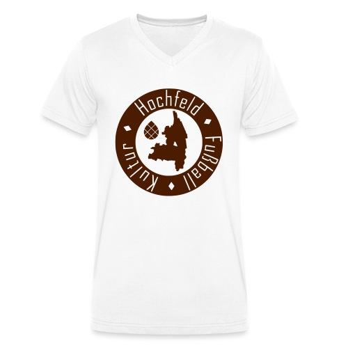 HFK HOODIE: ERDE RASEN KREIDE - Männer Bio-T-Shirt mit V-Ausschnitt von Stanley & Stella