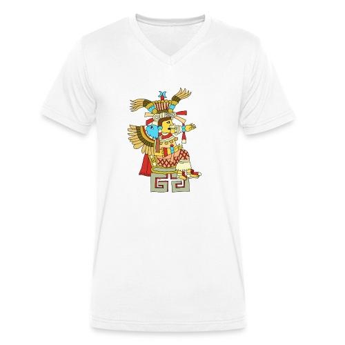 Xochiquetzal Aztec Aztekenmuster Hipster - Männer Bio-T-Shirt mit V-Ausschnitt von Stanley & Stella