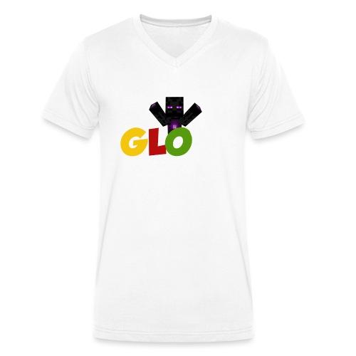 Minecraft - Glow - Männer Bio-T-Shirt mit V-Ausschnitt von Stanley & Stella