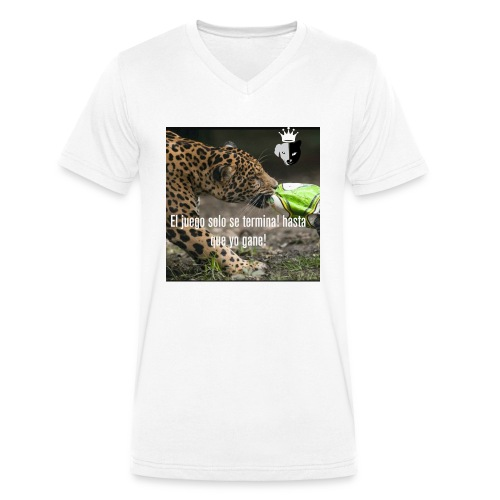 Game jaguar - Camiseta ecológica hombre con cuello de pico de Stanley & Stella