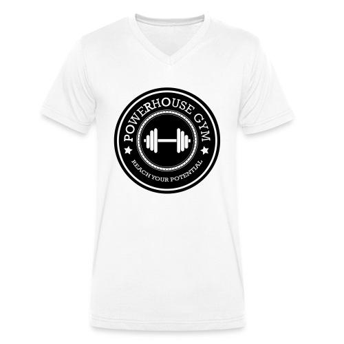 Powerhouse - Mannen bio T-shirt met V-hals van Stanley & Stella