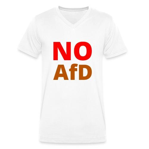 No AfD Keine AfD - Männer Bio-T-Shirt mit V-Ausschnitt von Stanley & Stella