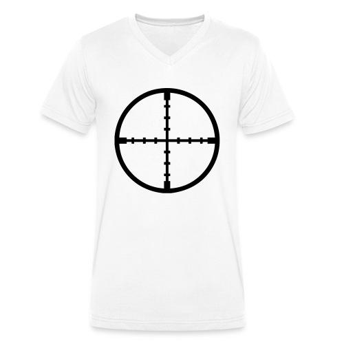 KoX Crosshair - Männer Bio-T-Shirt mit V-Ausschnitt von Stanley & Stella