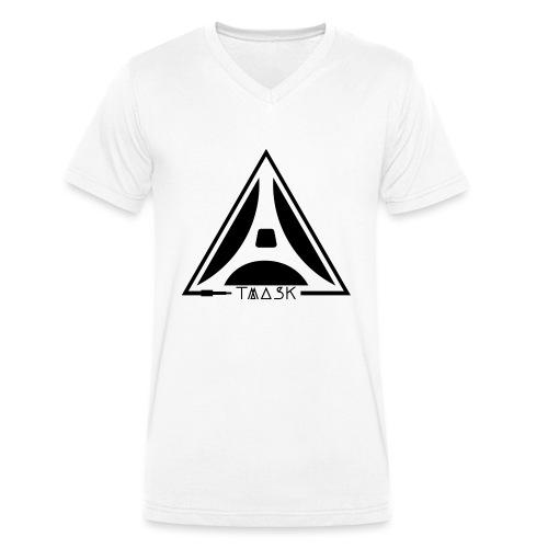 logo TMASK - T-shirt bio col V Stanley & Stella Homme
