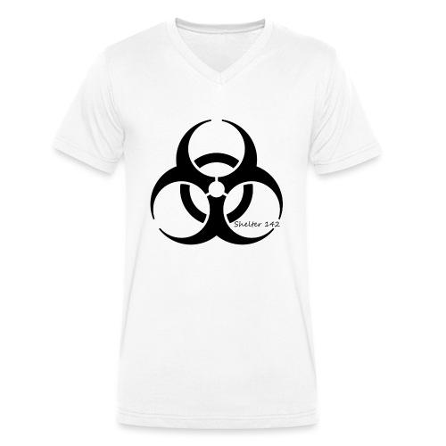 Biohazard - Shelter 142 - Männer Bio-T-Shirt mit V-Ausschnitt von Stanley & Stella