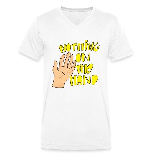 Nothing on the hand - Mannen bio T-shirt met V-hals van Stanley & Stella