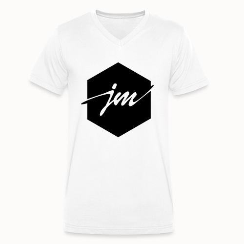 JMclothing | Blank Black - Ekologisk T-shirt med V-ringning herr från Stanley & Stella