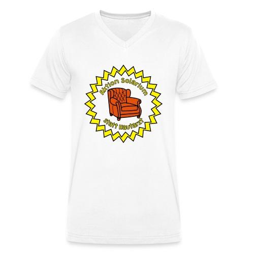 Solarium statt Hautarzt - Männer Bio-T-Shirt mit V-Ausschnitt von Stanley & Stella
