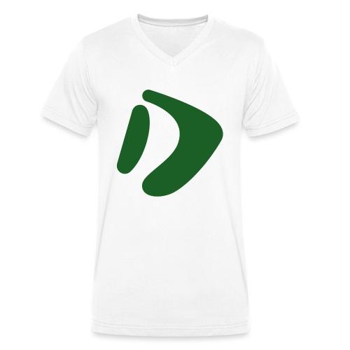 Logo D Green DomesSport - Männer Bio-T-Shirt mit V-Ausschnitt von Stanley & Stella