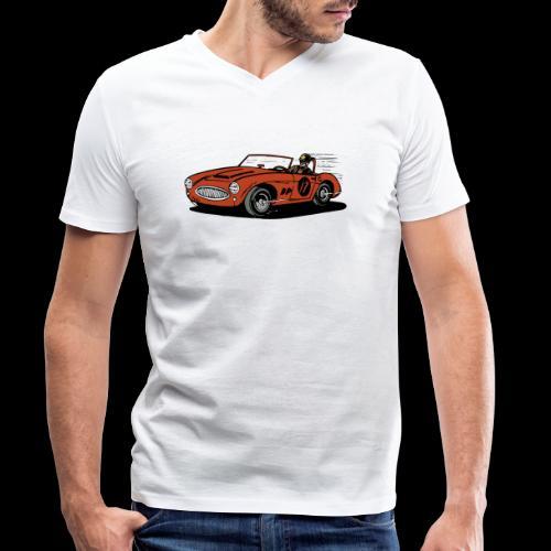 car - Männer Bio-T-Shirt mit V-Ausschnitt von Stanley & Stella