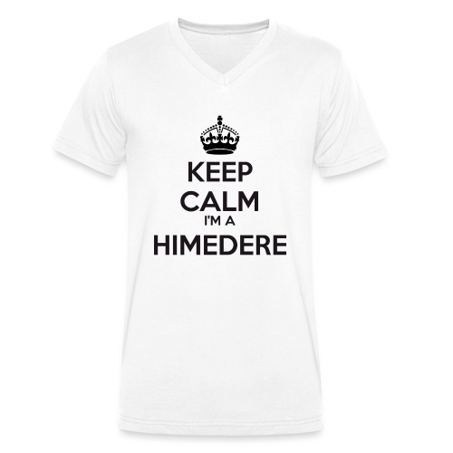 Himedere keep calm - Men's Organic V-Neck T-Shirt by Stanley & Stella