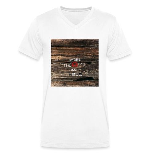 Jays cap - Men's Organic V-Neck T-Shirt by Stanley & Stella