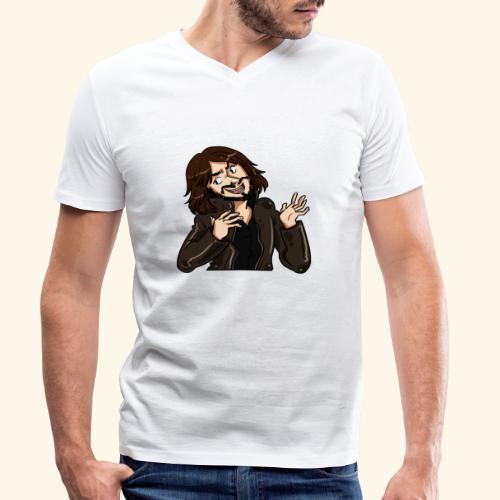 LJG st png upload 2 4000x - Men's Organic V-Neck T-Shirt by Stanley & Stella