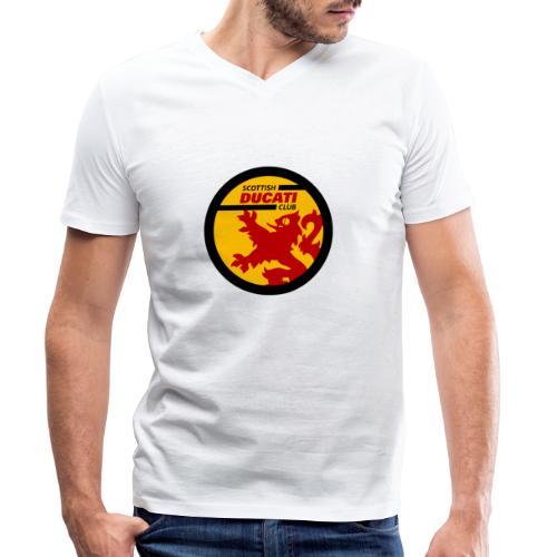 GIF logo - Men's Organic V-Neck T-Shirt by Stanley & Stella
