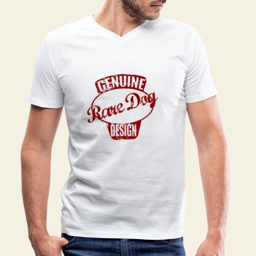 raredogdesign - Økologisk Stanley & Stella T-shirt med V-udskæring til herrer