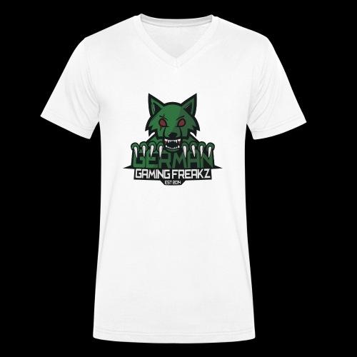 Männer T-Shirt mit GT - Männer Bio-T-Shirt mit V-Ausschnitt von Stanley & Stella