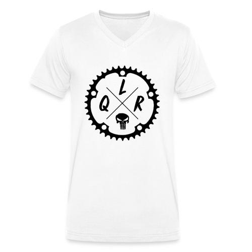[Logo Noir] - T-shirt bio col V Stanley & Stella Homme