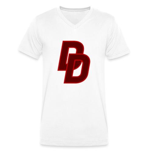 Daredevil Logo - Men's Organic V-Neck T-Shirt by Stanley & Stella