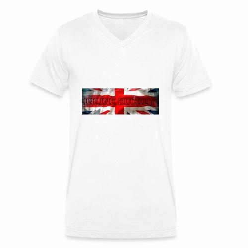 Inline Hockey Great Britain - T-shirt bio col V Stanley & Stella Homme