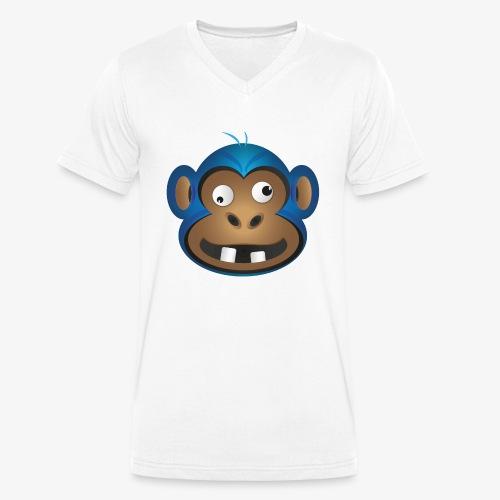 Affenbande Schimpanse - Männer Bio-T-Shirt mit V-Ausschnitt von Stanley & Stella
