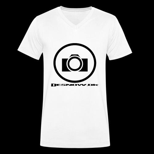 sort2 png - Økologisk Stanley & Stella T-shirt med V-udskæring til herrer