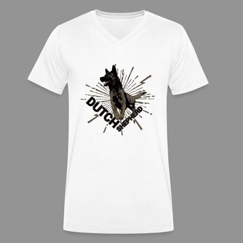 Dutch Shepherd Dog - Men's Organic V-Neck T-Shirt by Stanley & Stella