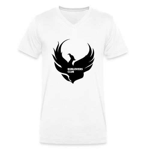 Runlovers Club v2 - T-shirt ecologica da uomo con scollo a V di Stanley & Stella
