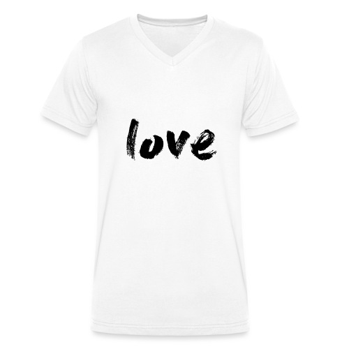 love.png - T-shirt bio col V Stanley & Stella Homme