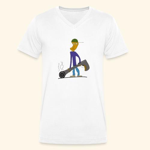 GunBoy - Männer Bio-T-Shirt mit V-Ausschnitt von Stanley & Stella