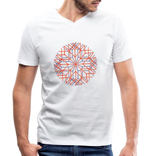 Altered Perception - Men's Organic V-Neck T-Shirt by Stanley & Stella
