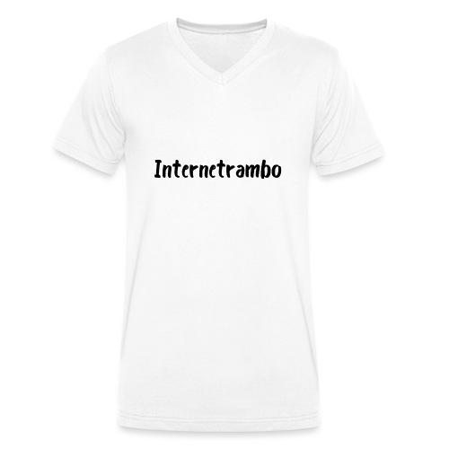 Internetrambo - Männer Bio-T-Shirt mit V-Ausschnitt von Stanley & Stella