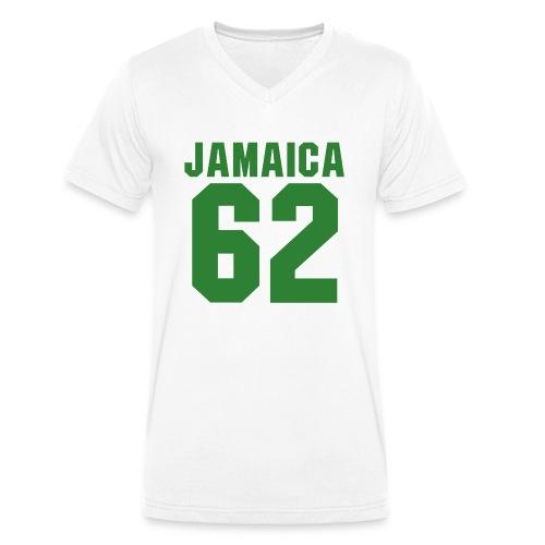 Free Jamaica 1962 - Independence - Proud Jamaicans - Männer Bio-T-Shirt mit V-Ausschnitt von Stanley & Stella