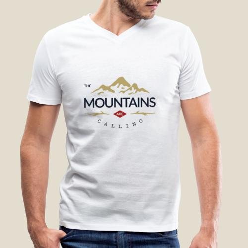 Outdoor mountain - T-shirt bio col V Stanley & Stella Homme