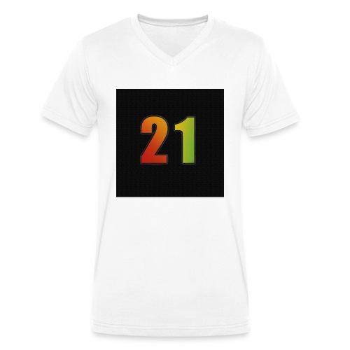21 Hoody - Männer Bio-T-Shirt mit V-Ausschnitt von Stanley & Stella