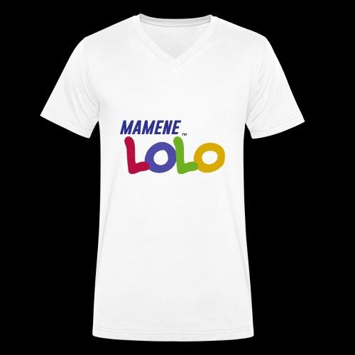 Mamene - LoLo - Empereur du sale - T-shirt bio col V Stanley & Stella Homme