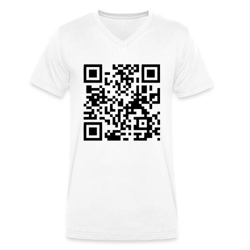 QR Code Geek - T-shirt bio col V Stanley & Stella Homme