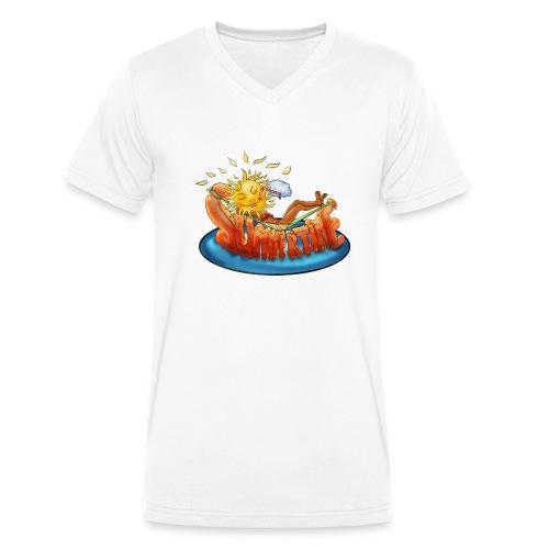 summertime - Männer Bio-T-Shirt mit V-Ausschnitt von Stanley & Stella