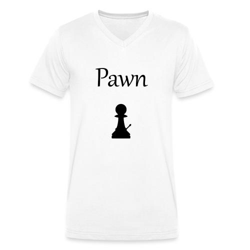 Pawn - Men's Organic V-Neck T-Shirt by Stanley & Stella